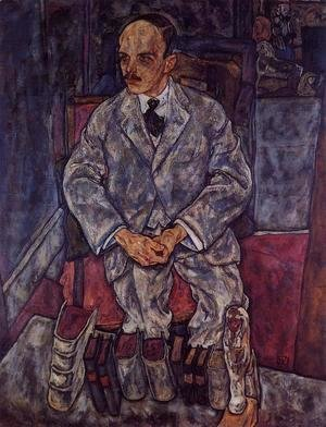 Egon Schiele - The Art Dealer Guido Arnot