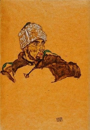 Egon Schiele - Russian Officer