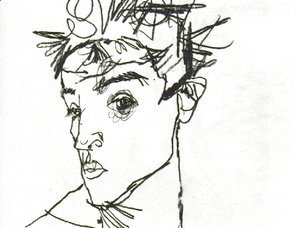Egon Schiele - Self Portrait 2
