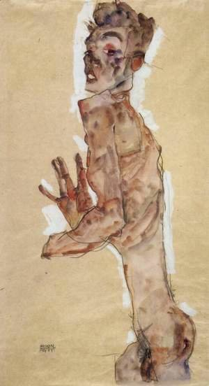 Nude, Self-portrait