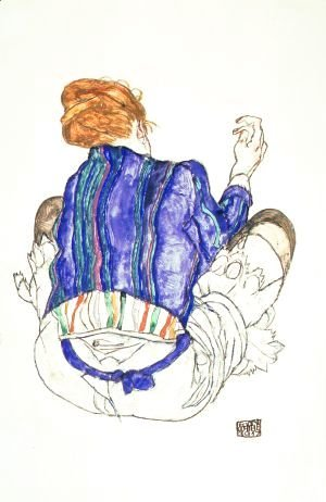 Egon Schiele - Seated Woman 2