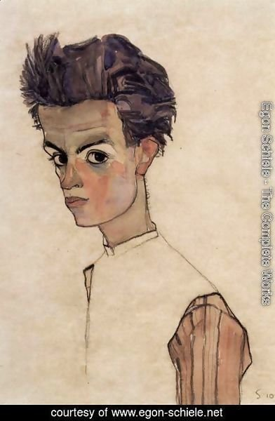 Egon Schiele - Self Portrait 3