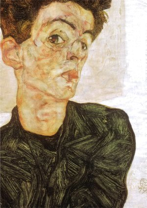 Egon Schiele - Self portrait 1912