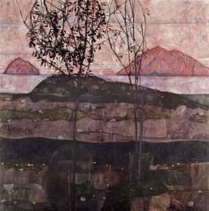 Egon Schiele - Sundown