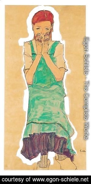 Madchen Mit Gruner Schurze (Girl With Green Pinafore)
