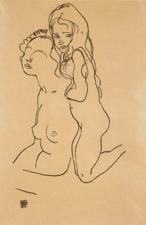 Egon Schiele - Mutter Und Kind (Mother And Child)