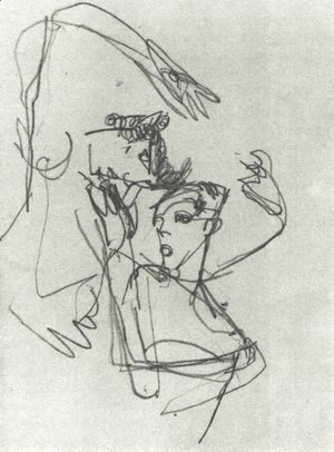 Egon Schiele - Untitled