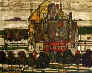 Egon Schiele - Single Houses