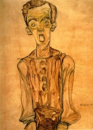 Egon Schiele - Self Portrait 6