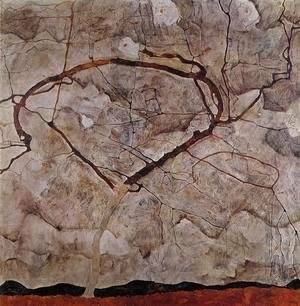 Egon Schiele - Autumn Tree In Movement