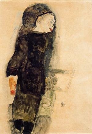 Egon Schiele - Child In Black