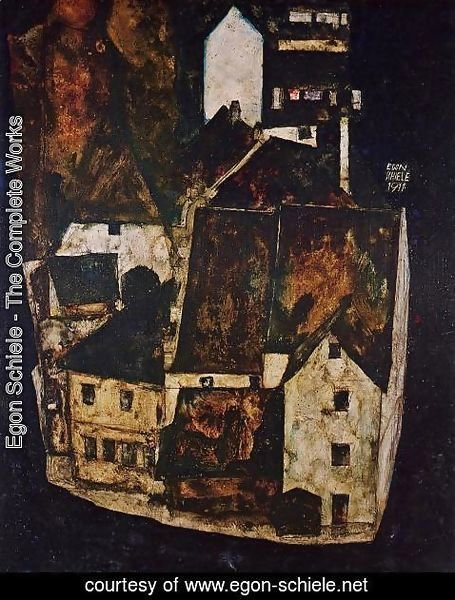 Egon Schiele - Dead City Aka City On The Dead River