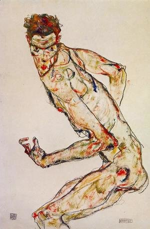 Egon Schiele - Fighter