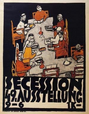 Forty Ninth Secession Exhibition Poster
