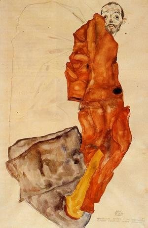 Egon Schiele - Hindering The Artist Is A Crime  It Is Murdering Life In The Bud