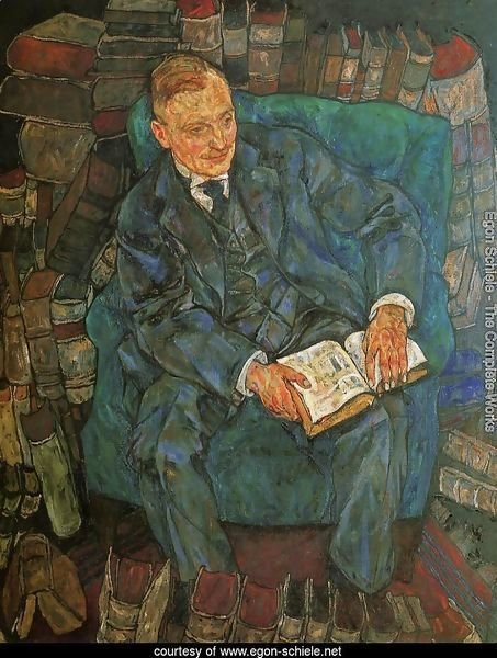 Portrait Of Dr  Hugo Koller
