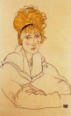 Egon Schiele - Portrait Of Edith Schiele