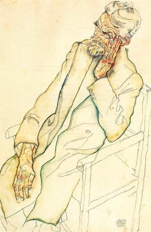 Egon Schiele - Portrait Of Johann Harms