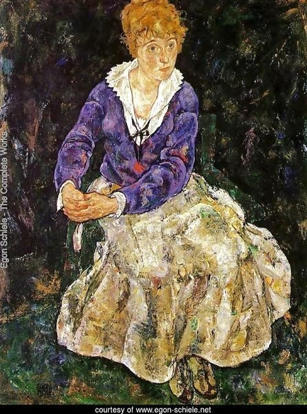 Portrait Of The Artists Wife  Seated