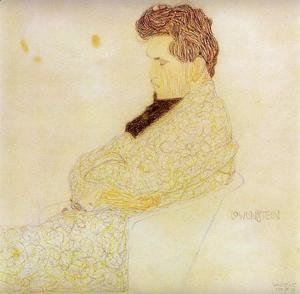 Egon Schiele - Portrait Of The Composer Lowenstein