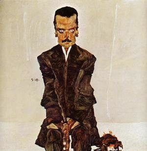 Egon Schiele - Portrait Of The Publisher Eduard Kismack