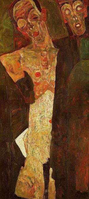 Egon Schiele - Prophets Aka Double Self Portrait