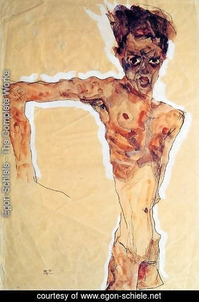 Egon Schiele - Self Portrait3