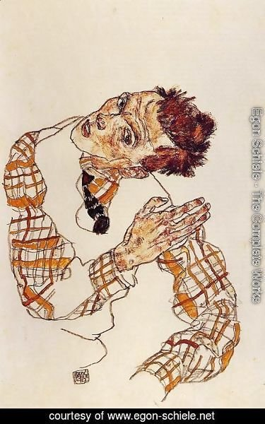 Egon Schiele - Self Portrait4
