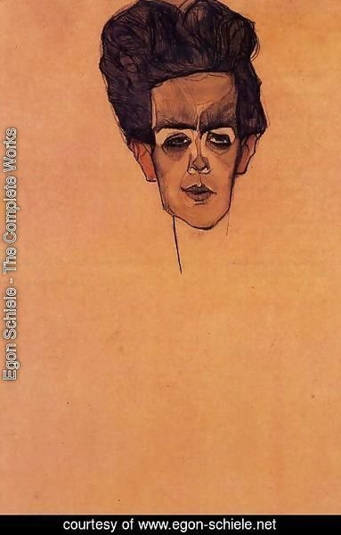 Egon Schiele - Self Portrait5