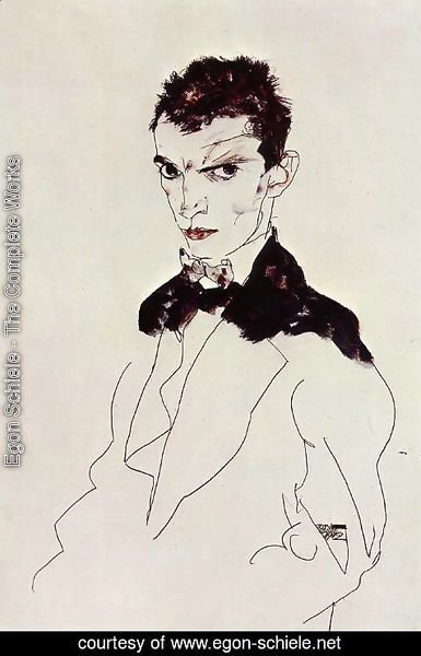 Egon Schiele - Self Portrait6