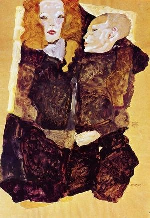 Egon Schiele - The Brother