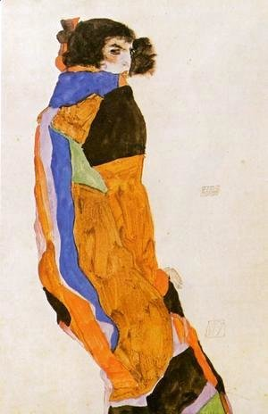 Egon Schiele - The Dancer Moa