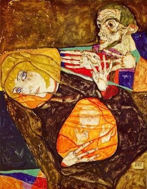 Egon Schiele - The Holy Family