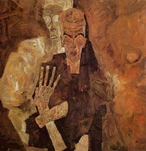 Egon Schiele - The Self Seers II Aka Death And Man