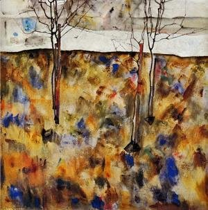 Egon Schiele - Winter Trees